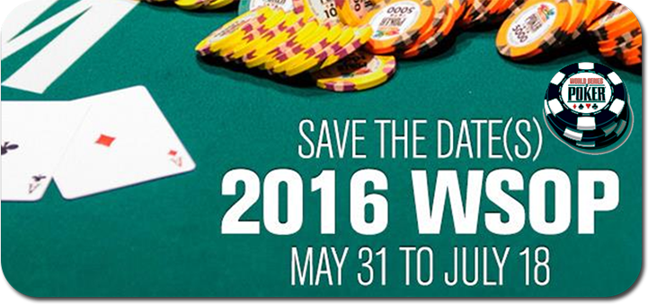 2016 World Series of Poker Las Vegas