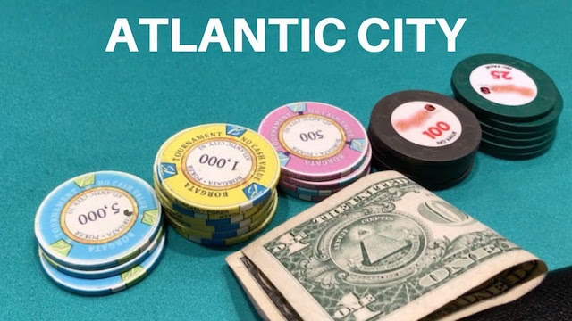 Atlantic City Poker Brings in Just Over $5m Via Online And Live Play for January