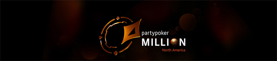 partypoker MILLIONS North America - real money tournament