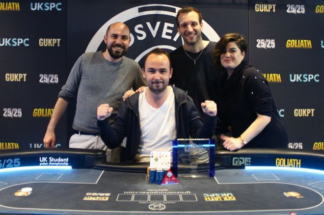 Jerome L'Hostis is a New Champion of GUKPT Grand 2018