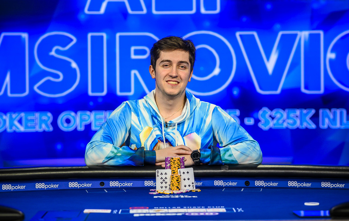 Ali Imsirovic 2019 US Poker Open