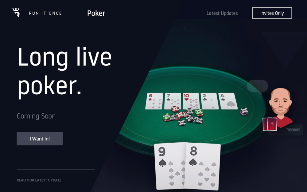 Run It Once – Phil Galfond Announces His Poker Site