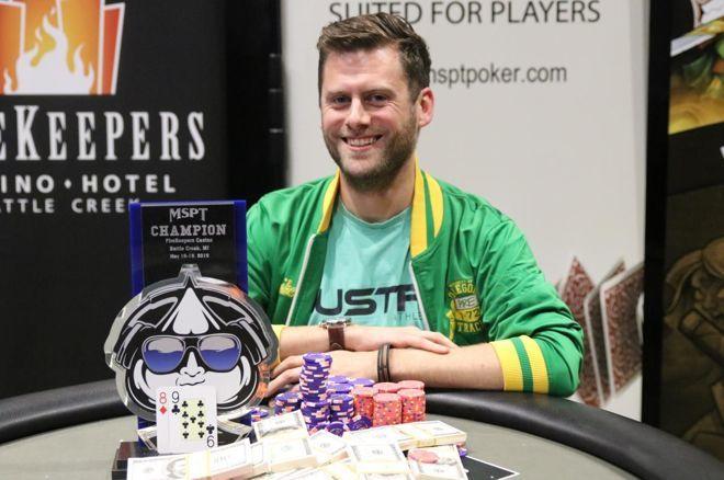 Chris Moon Wins Again, Ships $258,407 At MSPT FireKeepers