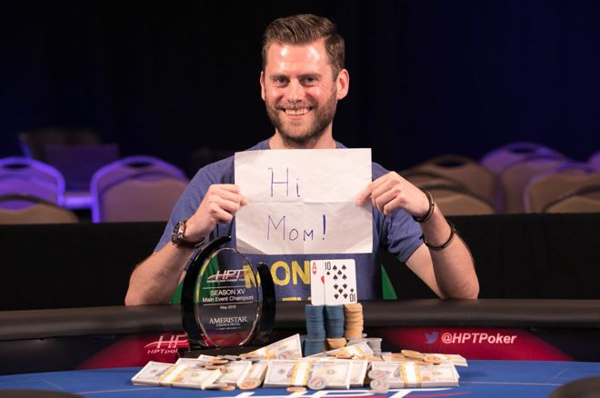 Chris Moon wins HPT Ameristar East Chicago Title
