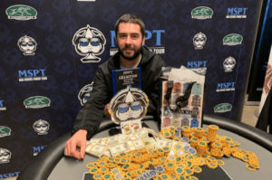 Anothony Dunne Wins MSPT Season 10 Finale