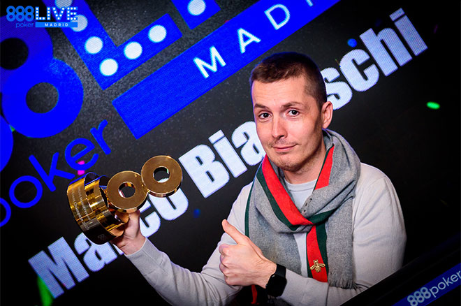 888poker LIVE Madrid — Biavaschi Wins €150,000 with €100 Buy-In