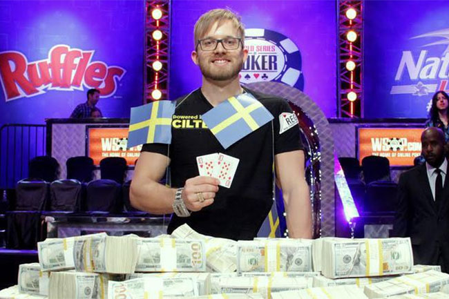 Martin Jacobson 2014 WSOP main event win